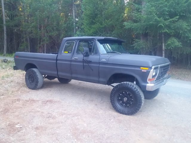 Ford F 250 1979 For Sale 1979 Ford F 250 Ranger 4x4 Super Cab