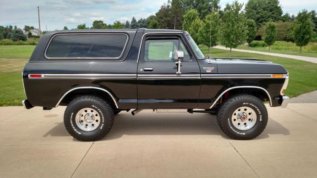 ford bronco wagon 1979 black for sale u15hlec 1979 ford ranger xlt bronco southern truck. Black Bedroom Furniture Sets. Home Design Ideas