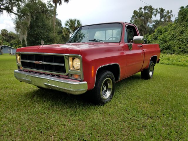 Gmc Sierra 1500 Cab  U0026 Chassis 1979 Red For Sale