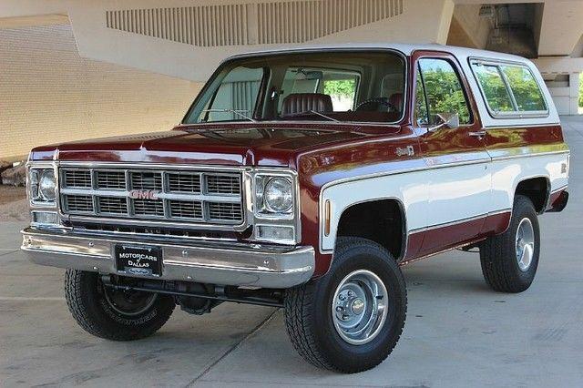 GMC Jimmy SUV 1979 Red For Sale. TKL189Z525666 1979 GMC ...