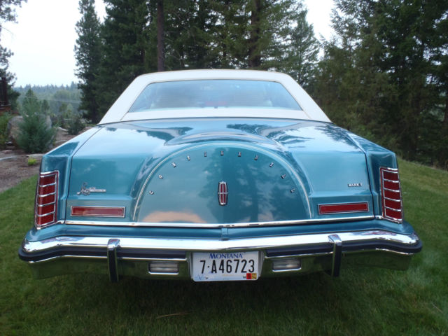 Lincoln Continental 1979 Dark Turquoise For Sale ...