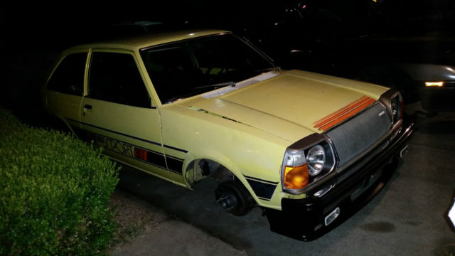 Mazda Glc Hatchback 1979 Yellow For Sale Fa4us562815 1979