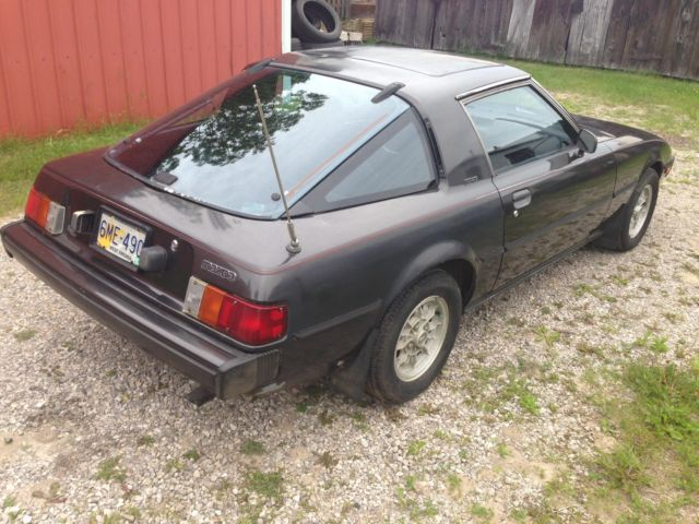 mazda rx 7 fastback 1979 gray for sale sa22c547969 1979 mazda rx7 project or parts car. Black Bedroom Furniture Sets. Home Design Ideas