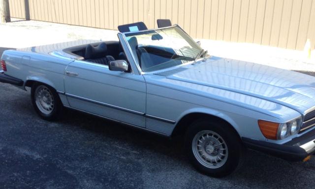 mercedes 450 sl cabriolet 1979