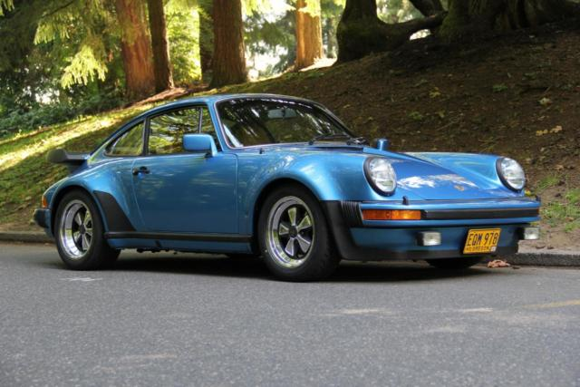 Porsche 930 Coupe 1979 Minerva Blue For Sale 9309800336
