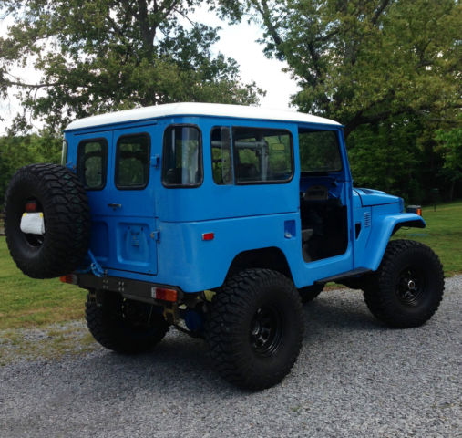Toyota Fj40 Hardtop For Sale: Toyota Land Cruiser SUV 1979 Blue For Sale. FJ40301571