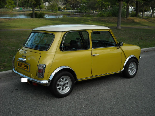 Austin Clubman Coupe 1980 Yellow For Sale Xc2s2000741740 1980