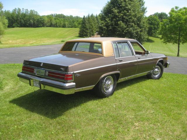 buick electra sedan 1980 brown for sale 1980 buick electra 225 prak ave. Black Bedroom Furniture Sets. Home Design Ideas