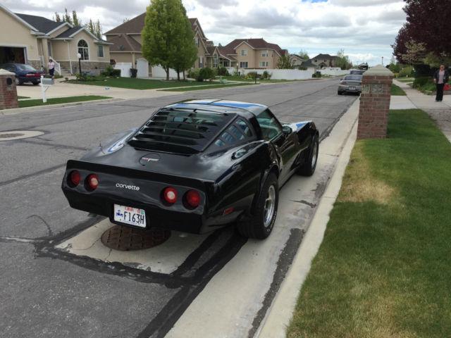 chevrolet corvette coupe 1980 black for sale 1z878as431989 1980 rh findclassicars com 1980 corvette manual transmission for sale 1980 corvette manual transmission replacement