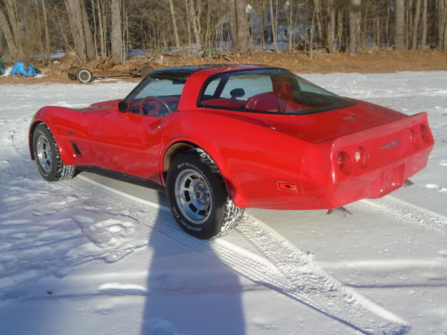 chevrolet corvette coupe 1980 red for sale 1z878as440090 1980 corvette coupe very well kept. Black Bedroom Furniture Sets. Home Design Ideas