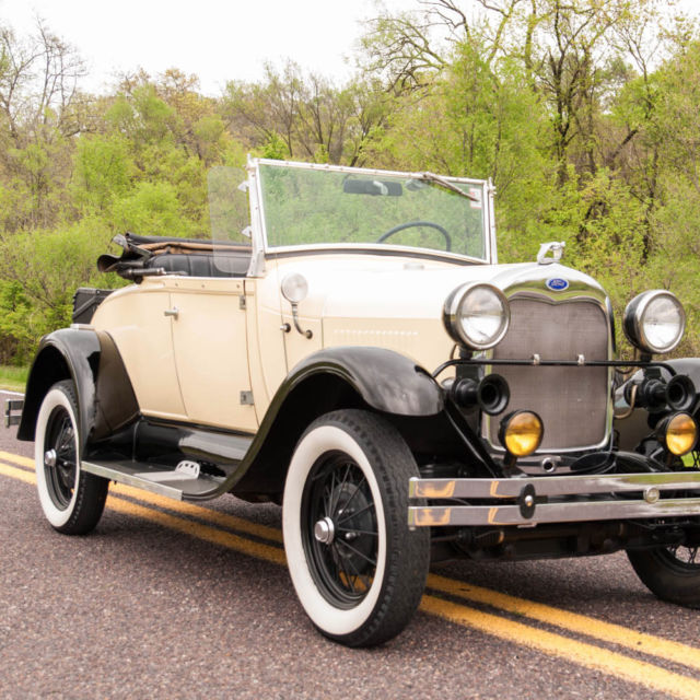 Other Makes Shay Model A Deluxe Roadster Convertible 1980