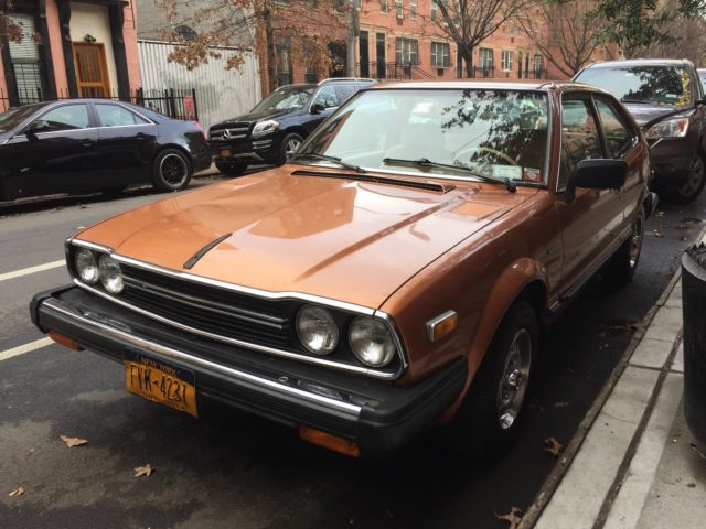 honda accord hatchback 1980 longleet gold metallic for sale 1980 honda accord lx hatchback 5. Black Bedroom Furniture Sets. Home Design Ideas