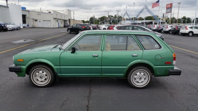 honda civic 4 door wagon 1980 green for sale wd b1004879 1980 honda civic 4 door wagon. Black Bedroom Furniture Sets. Home Design Ideas