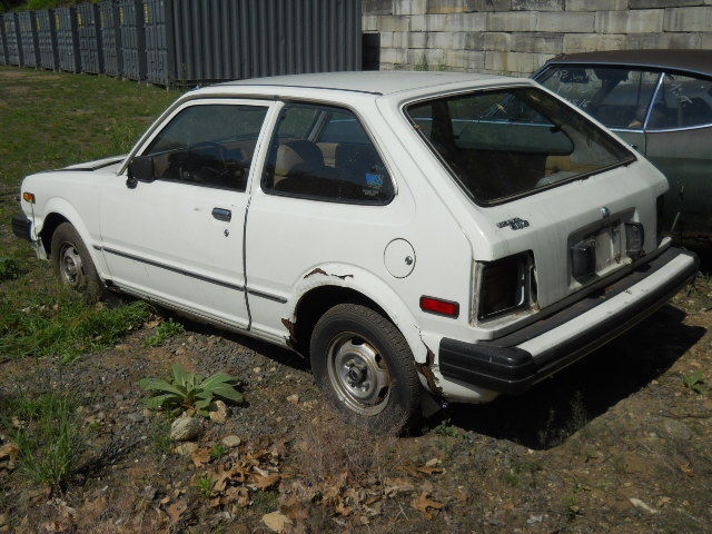 honda civic hatchback 1980 white for sale sr d1012659 1980 honda civic hatchback. Black Bedroom Furniture Sets. Home Design Ideas