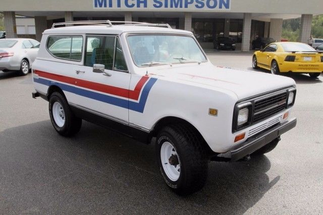 International Harvester Scout Suv 1980 White For Sale