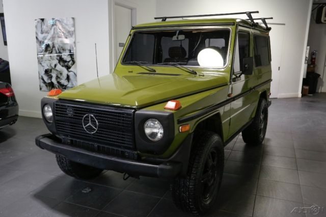 Mercedes benz g class suv 1980 green for sale for Mercedes benz gelandewagen for sale