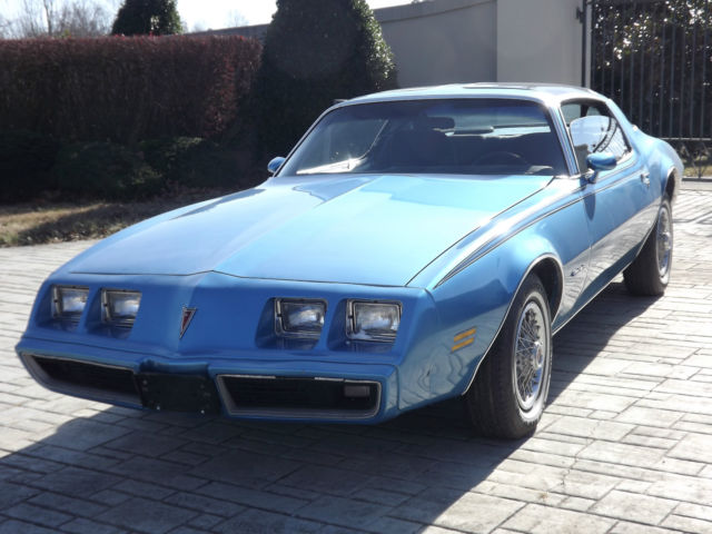Pontiac Firebird Coupe 1980 Blue For Sale 1980 Pontiac