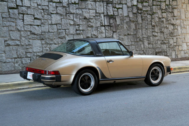 porsche 911 targa 1980 cashmere beige metallic for sale 91a0144198 1980 porsche 911 sc targa 3 0l. Black Bedroom Furniture Sets. Home Design Ideas