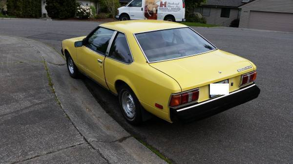 Toyota Celica Coupe 1980 Yellow For Sale Pre 1981 Car