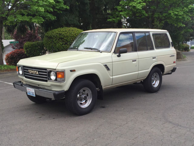 Toyota Land Cruiser Suv Tan For Sale