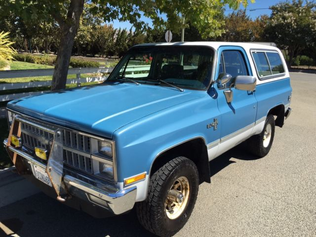 Chevrolet Blazer Suv 1981 Blue For Sale 1g8ek18l5bf131052