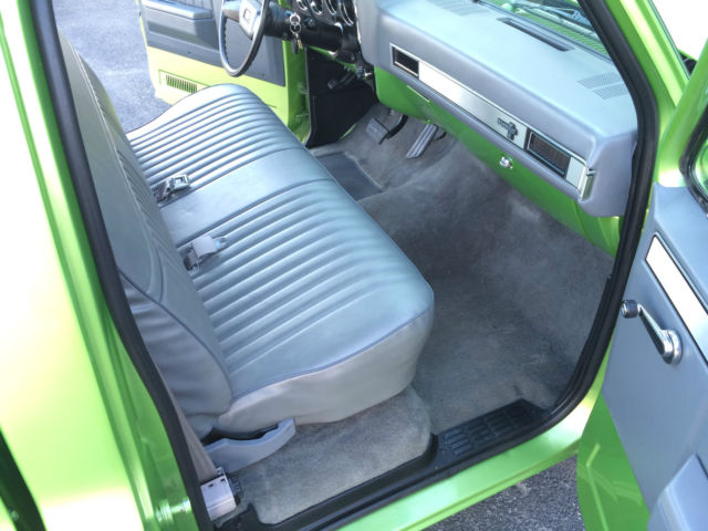 Chevrolet C 10 Regular Cab Short Box Pickup 1981 Green For