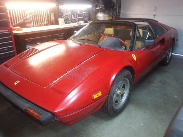 Ferrari 308 Convertible 1981 Red For Sale ZFFAA02A2B0034971 1981