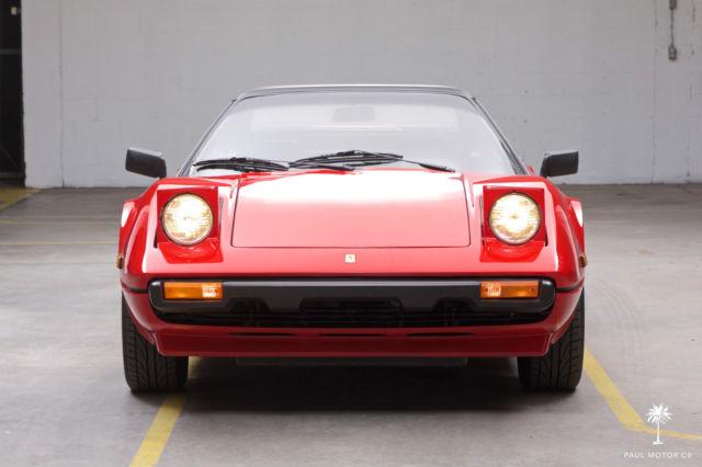 Ferrari 308 Convertible 1981 Red For Sale ZFFAA02A6A0034311 1981