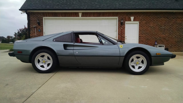 Ferrari 308 Coupe 1981 Metallic Gray For Sale ZFFAA02A1B0036579