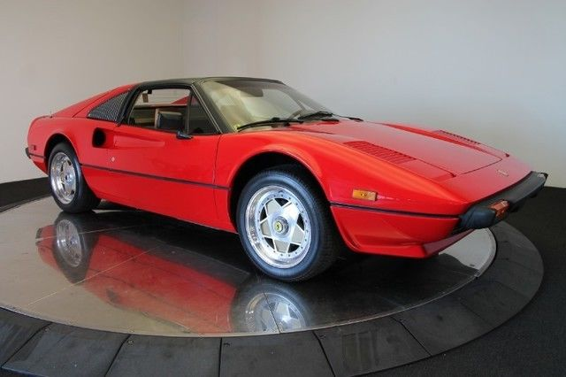 Ferrari 308 Coupe 1981 Red For Sale ZFFAA02A3B0034607 1981