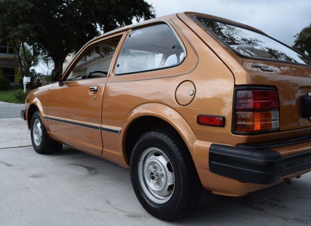 Honda West Palm Beach >> Honda Civic Hatchback 1981 Gold For Sale ...