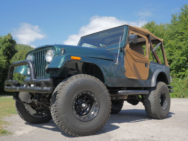 For sale 1981 Jeep CJ & Jeep CJ [xfgiven_type]%xfields_type%[/xfgiven_type] 1981 GREEN For ...