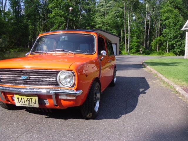 mini clubman 1980 orange for sale xl2w2010764591 1981. Black Bedroom Furniture Sets. Home Design Ideas