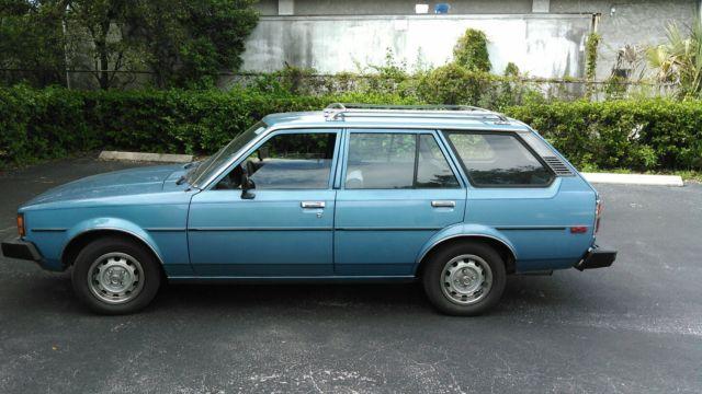 toyota corolla wagon 1981 blue for sale jt2te72w6b5066107 1981 toyota corolla dlx wagon 5 door 1 8l. Black Bedroom Furniture Sets. Home Design Ideas