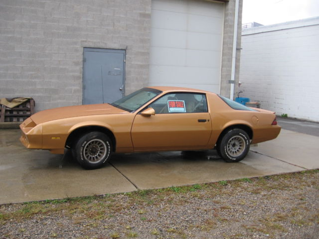 chevrolet camaro fastback 1982 tan for sale. Black Bedroom Furniture Sets. Home Design Ideas