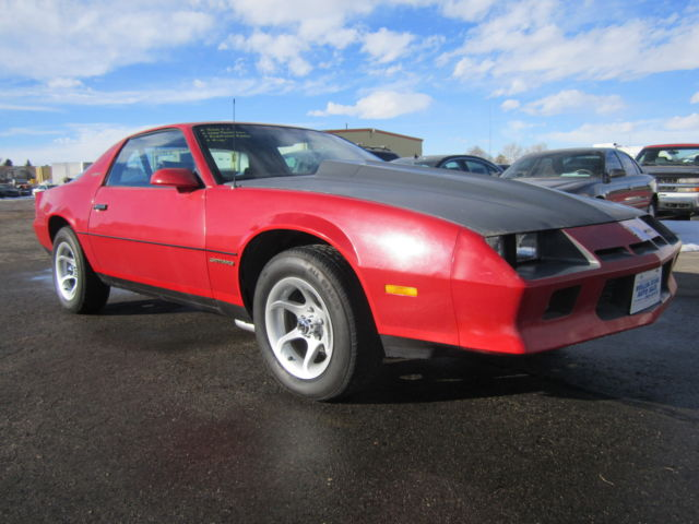 Byers Used Cars >> Chevrolet Camaro Coupe 1982 red For Sale. 1g1as8715cl196668 1982 Chevrolet Camaro Berlinetta ...