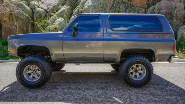 K5 Blazer For Sale >> Chevrolet Blazer SUV 1982 Gray For Sale. 1G8EK18C6CF100927 1982 Chevy K5 Blazer | 454 Engine ...