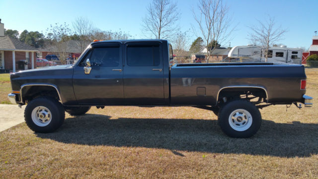 6.2 Chevy Silverado For Sale >> Chevrolet C/K Pickup 3500 Pickup Truck 1982 Ford Dark Stone For Sale. 1GCHC33J3CS179076 1982 ...