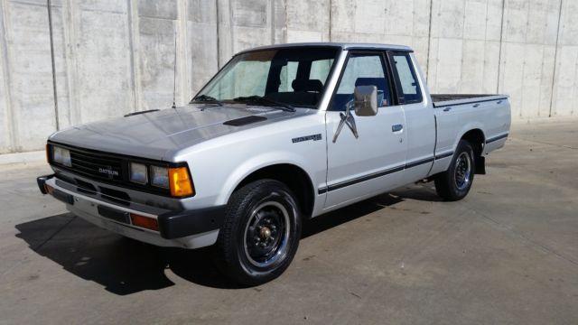 Datsun 720 Standard Cab Pickup 1982 Silver For Sale ...