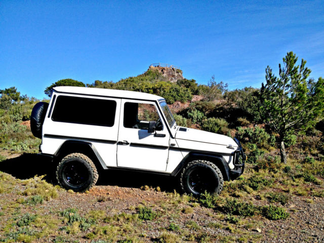 Mercedes benz g class suv 1980 white for sale xfgiven for Mercedes benz g class suv for sale