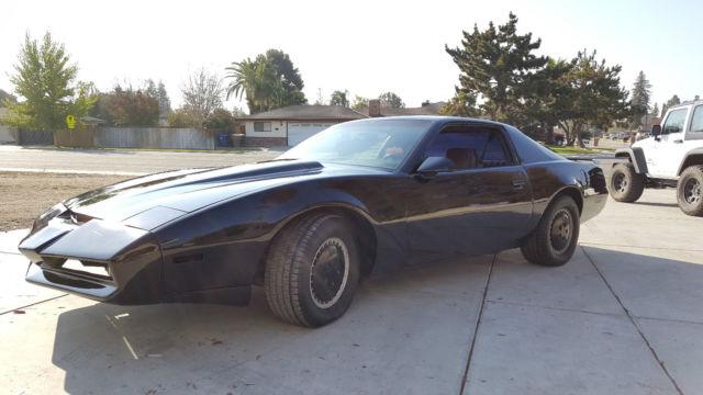pontiac firebird coupe 1982 black for sale 1g2as87h7cl563630 1982 pontiac firebird knight rider. Black Bedroom Furniture Sets. Home Design Ideas