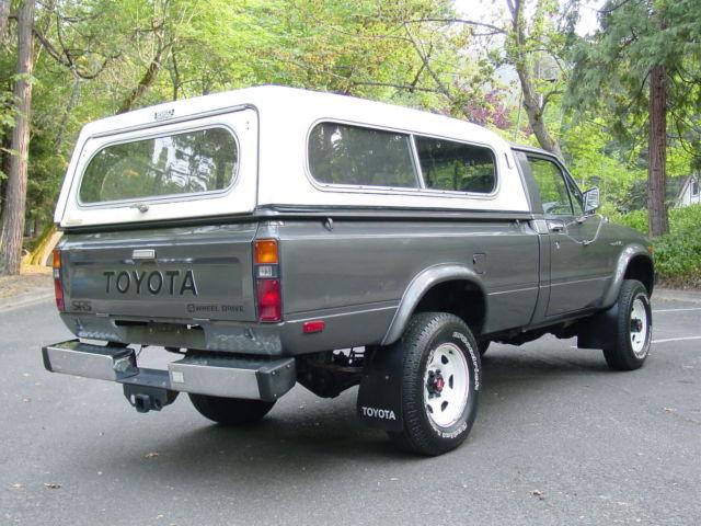 toyota other standard cab pickup 1982 gray for sale jt4rn48s9c0056397 1982 toyota sr5 4wd. Black Bedroom Furniture Sets. Home Design Ideas