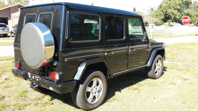 Mercedes benz g class suv 1983 black for sale for Mercedes benz g class suv for sale