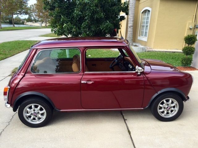 mini classic mini coupe 1983 burgundy for sale 11111111111111111 1983 austin rover mini classic. Black Bedroom Furniture Sets. Home Design Ideas