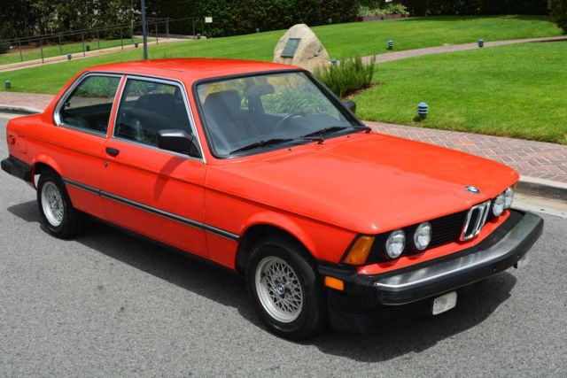 bmw 3 series coupe 1983 red for sale wbaag3300d8390941 1983 bmw 320i 320is e21 excellent condition. Black Bedroom Furniture Sets. Home Design Ideas