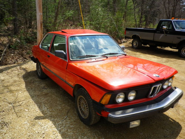 bmw 3 series coupe 1983 hennarot red for sale wbaag3308d8385051 1983 bmw 320i e21 clean. Black Bedroom Furniture Sets. Home Design Ideas
