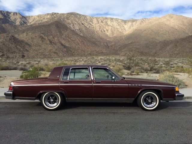 buick electra sedan 1983 burgundy for sale. Black Bedroom Furniture Sets. Home Design Ideas