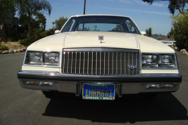 Buick Regal San Diego >> Buick Regal Coupe 1983 Frost Beige For Sale. 1G4AM4742DH988202 1983 Buick Regal Limited Coupe ...