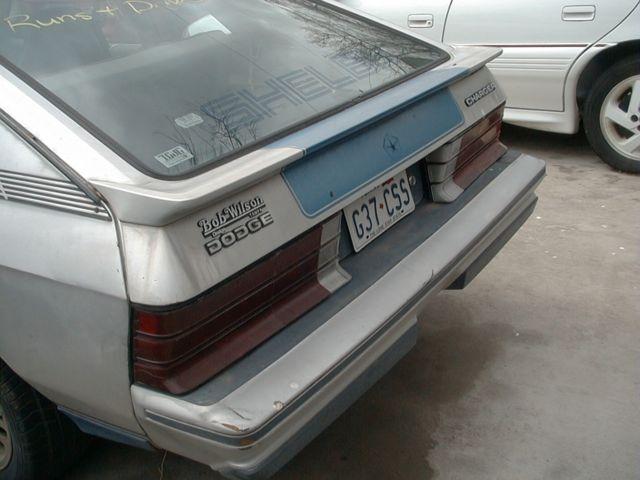 Dodge Charger Hatchback 1983 Silver For Sale
