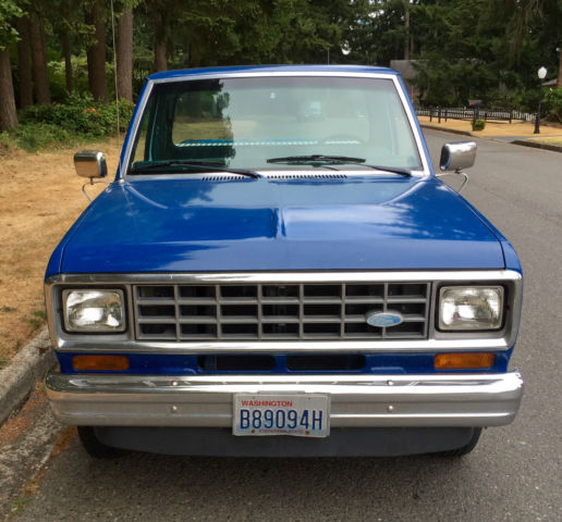 Ford Ranger 2 2 Supercab For Sale: Ford Ranger 1983 Blue For Sale. 1FTCR10P8DUB60681 1983